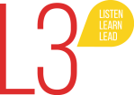 L3: Listen, Learn, and Lead logo