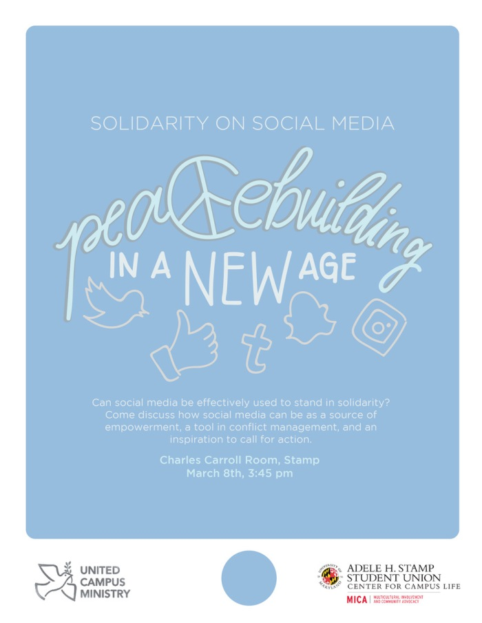 Peacebuilding in a New Age Flyer, 3-8-17 Event.jpeg